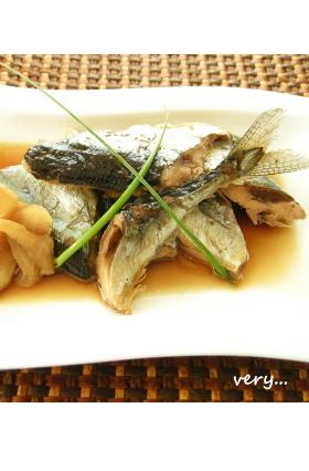 クック膳★秋刀魚の生姜煮(ホエー入り)