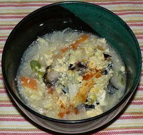 野菜と春雨の中華スープ煮