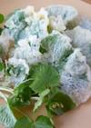 春の味~葉わさびの天ぷら!