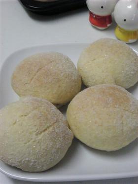 バター・卵・発酵なし!おからメロンパン。