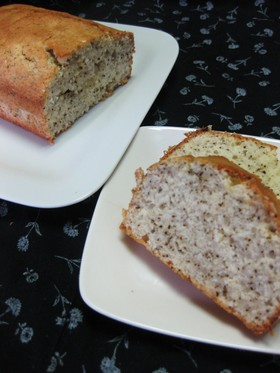 卵白とミルキー紅茶なパウンドケーキ