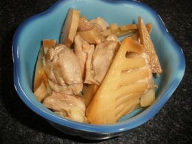簡単!タケノコと鶏肉の煮物