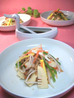 旬の韓国料理♪竹の子で作るチュクスンチェ