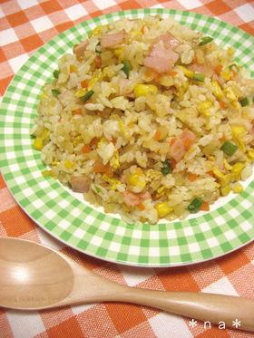 ウチの簡単♡バターの香りの野菜チャーハン