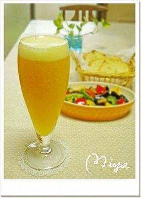 爽やか♪オレンジビール