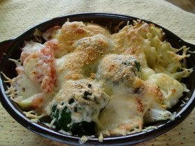 たっぷり野菜のチーズ焼き