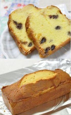 大人のブランデーケーキ