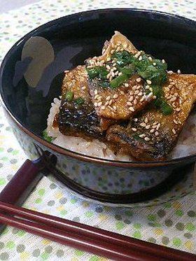 ご飯がすすむ ♪ ☆さば の 甘辛丼☆