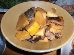 筍とニシンの煮付け