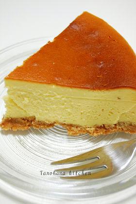 ラム酒かおる☆ベイクドチーズケーキ