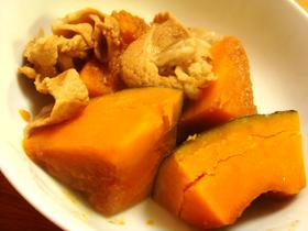 簡単♪豚肉とかぼちゃのサイダー煮