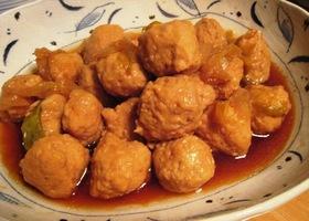 鶏団子のうま煮♪