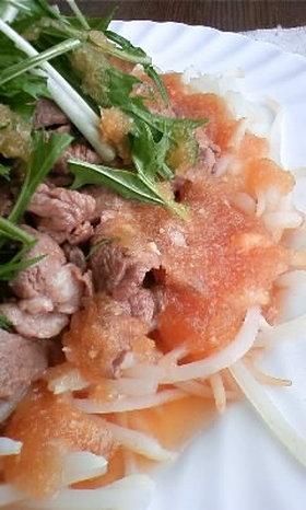 牛肉のサラダwithオニオンソース