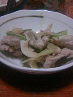 豚ネギキャベツのダブル味噌炒め