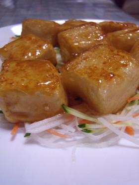ぷるるん♥サイコロ豆腐ステーキ♡