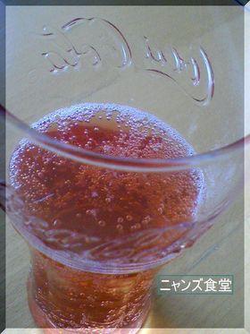 しゅわしゅわ苺ジュース