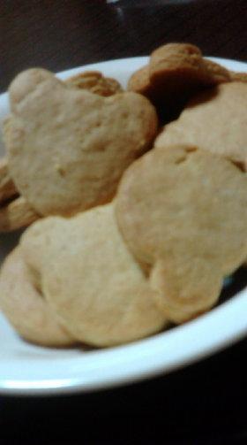 ピーナッツクッキー(〃ω〃)うまま