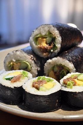 焼き肉の♬巻き寿司