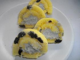 豆腐クリームのロールケーキ♪