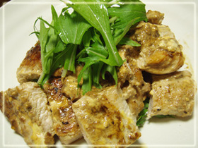 柔らかジューシー鶏むね肉のマヨ照り焼き