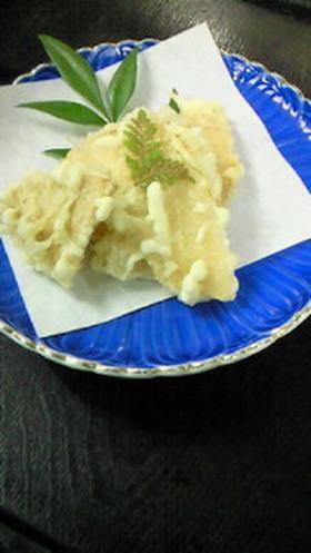 煮た竹の子天ぷら
