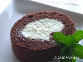 ティラミスのロールケーキ
