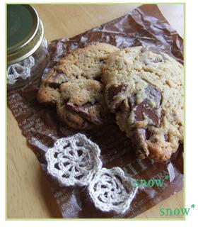 チョコ好きさんの♡焼きチョコクッキー