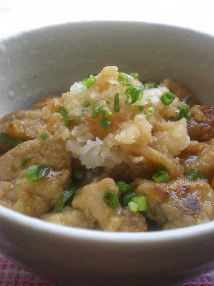 ◆鶏おろし丼◆