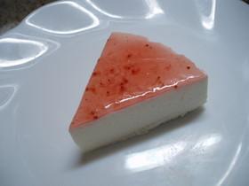 ♪レアチーズ風ヘルシーヨーグルトケーキ♪