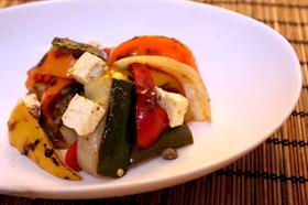 グリル野菜のバルサミコマリネ