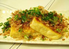 豆腐のシンプルステーキ