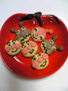 アンパンマンのクッキー☆