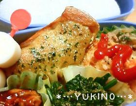 お弁当に♡鮭のカレーマヨ焼き