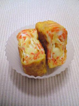 にんじんとチーズの卵焼き