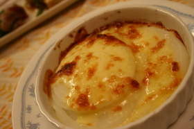 たまねぎチーズ焼き