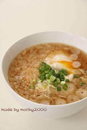 味噌汁かけ飯(サラサラ雑炊風)