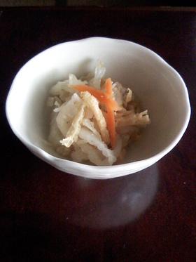 白菜の簡単酢の物