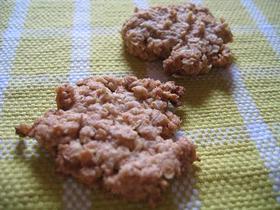 オートミールメープルクッキー