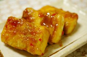 ふわふわ?新食感・豚肉&高野豆腐アジア風