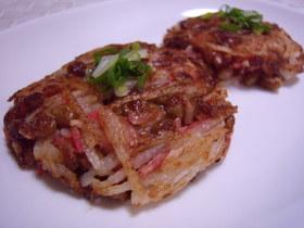 ♥納豆と長芋の干しえび風味焼き♥