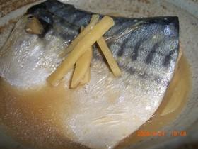ご飯が進む♪  -サバの味噌煮-