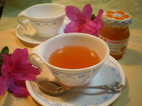 紅茶ほっと★オレンジティー☆