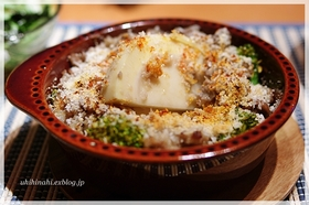 タケノコと豚肉のアンチョビガーリック焼き
