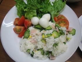 サラダすし