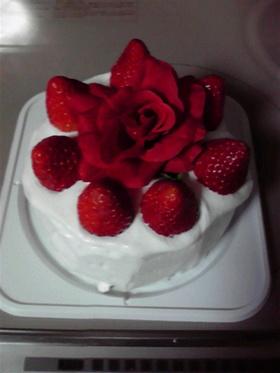 大人なデコレーションケーキ