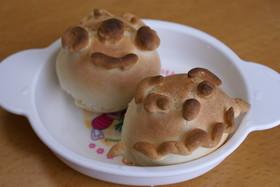 ★乳なし・簡単★アンパンマンのパン