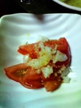ホントに簡単トマトの付合せ