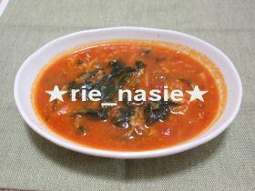 食べるトマトスープ?
