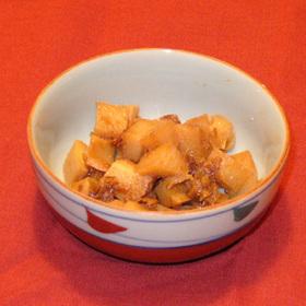 サイコロ筍の土佐煮
