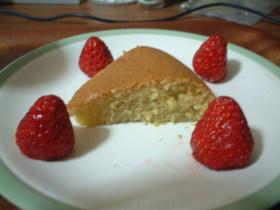 アヲハタジャムを使って炊飯器でケーキ